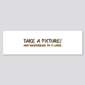 Picture time Bumper Sticker