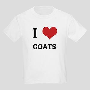 I Love Goats Kids T-Shirt