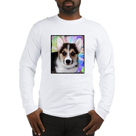 Corgi Puppy Face Long Sleeve T-Shirt