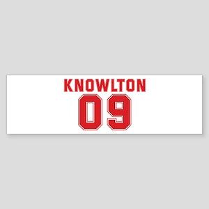 KNOWLTON 09 Bumper Sticker