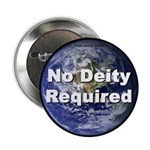 """""""No Deity Required"""" 2.25"""" Button (100 pack)"""