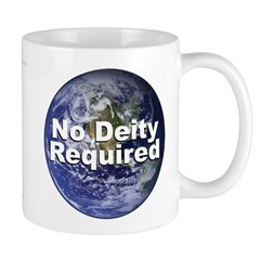 No Deity Required Mug