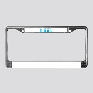 so hot its cool License Plate Frame