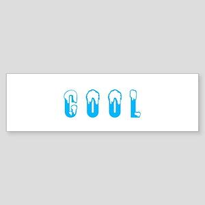 so hot its cool Bumper Sticker