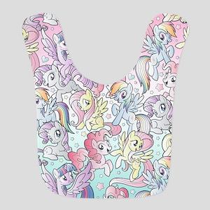 My Little Pony Rainbow Polyester Baby Bib