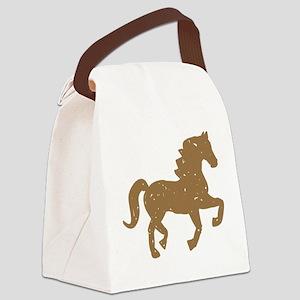 Pretty Ponies Canvas Lunch Bag
