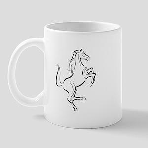 Horse Rampant Mug