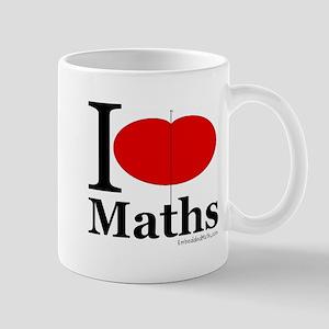 I Love Maths Mug