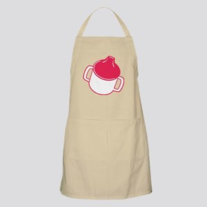 Cute Pink Sip Cup BBQ Apron
