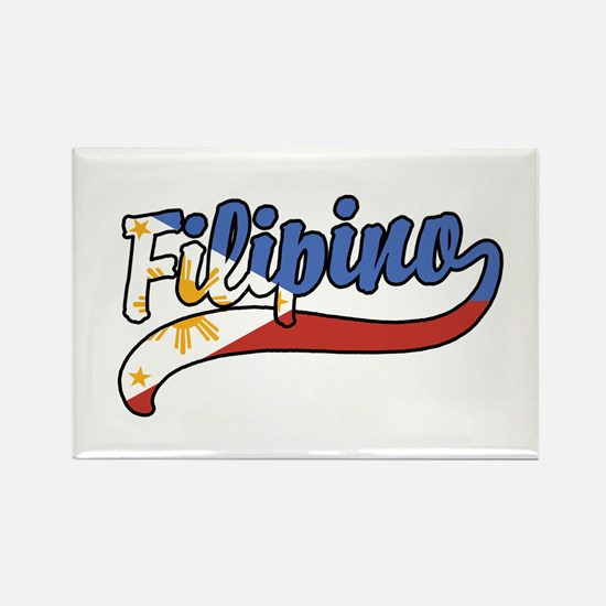 Filipino Rectangle Magnet