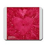 SPIRITED ROSE HEART Mousepad