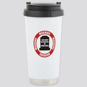 Easily Distracted Stainless Steel Travel Mug