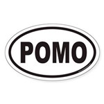 POMO Euro Oval Sticker