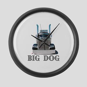 Big Dog Large Wall Clock