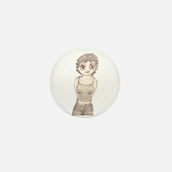Lisa Mini Button