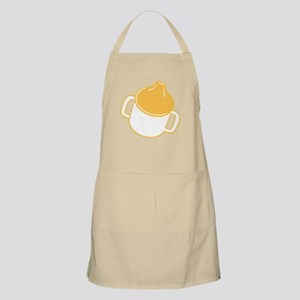 Cute Yellow Sip Cup BBQ Apron