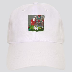 Santa's Helper Westie Cap