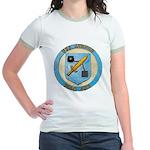 USS AVENGE Jr. Ringer T-Shirt