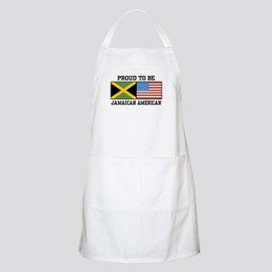 Proud To Be Jamaican American BBQ Apron