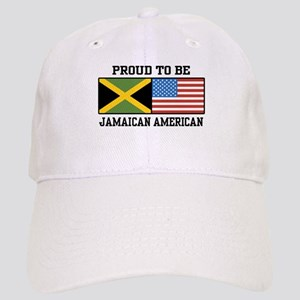 Proud To Be Jamaican American Cap