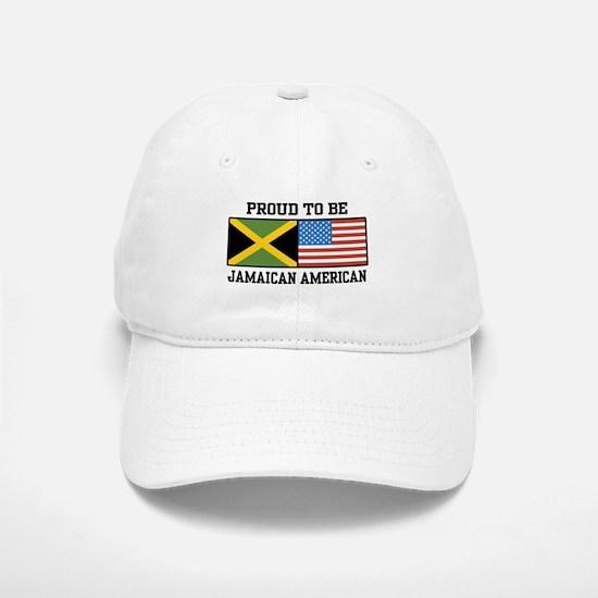 Proud To Be Jamaican American Baseball Baseball Cap