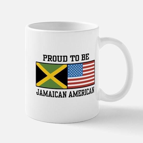 Proud To Be Jamaican American Mug