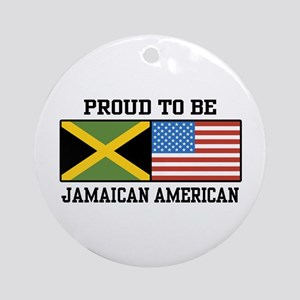 Proud To Be Jamaican American Ornament (Round)