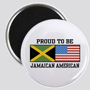 Proud To Be Jamaican American Magnet