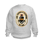 USS ARTHUR W. RADFORD Kids Sweatshirt