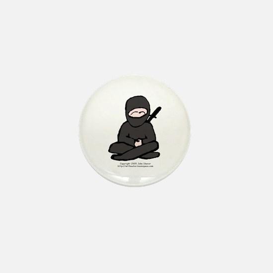 Little Ninja Mini Button