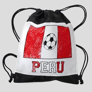 Peruvian Soccer Drawstring Bag