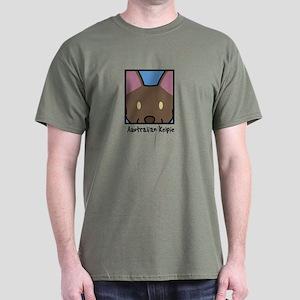 Anime Australian Kelpie Dark T Shirt
