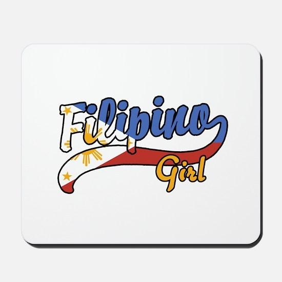 Filipino Girl Mousepad
