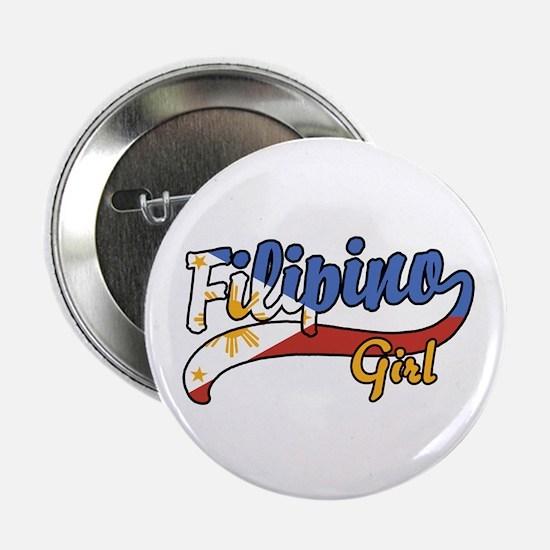 "Filipino Girl 2.25"" Button"