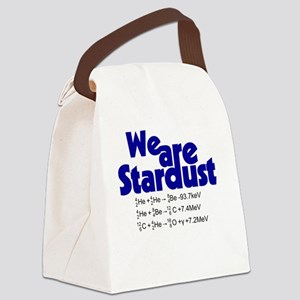 We Are Stardust Canvas Lunch Bag