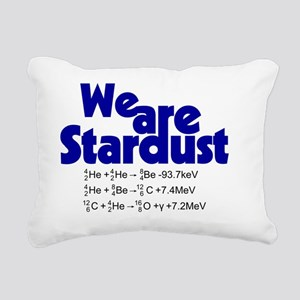 We Are Stardust Rectangular Canvas Pillow