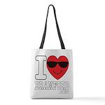 I LOVE BRANFORD Polyester Tote Bag