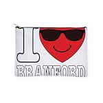 I LOVE BRANFORD Makeup Bag
