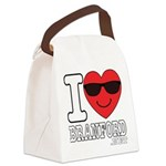 I LOVE BRANFORD Canvas Lunch Bag