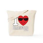I LOVE BRANFORD Tote Bag