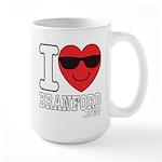 I LOVE BRANFORD Mugs