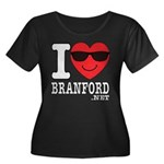 I LOVE BRANFORD Plus Size T-Shirt