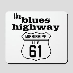 Blues Highway Mousepad