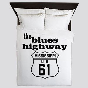 Blues Highway Queen Duvet