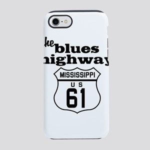Blues Highway iPhone 8/7 Tough Case