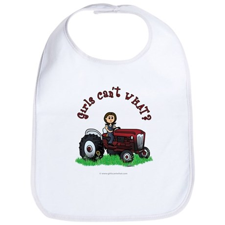 Light Red Farmer Bib