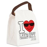 I LOVE LAKE CITY Canvas Lunch Bag
