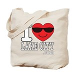 I LOVE LAKE CITY Tote Bag
