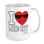 I LOVE LAKE CITY Mugs
