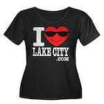 I LOVE LAKE CITY Plus Size T-Shirt